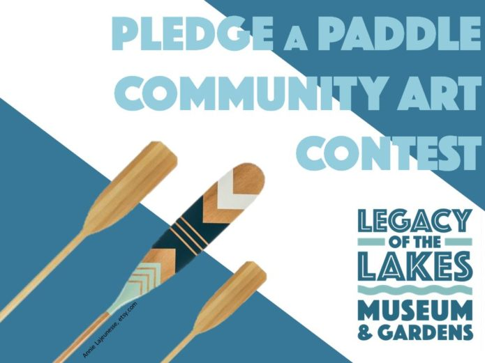 Pledge a paddle banner