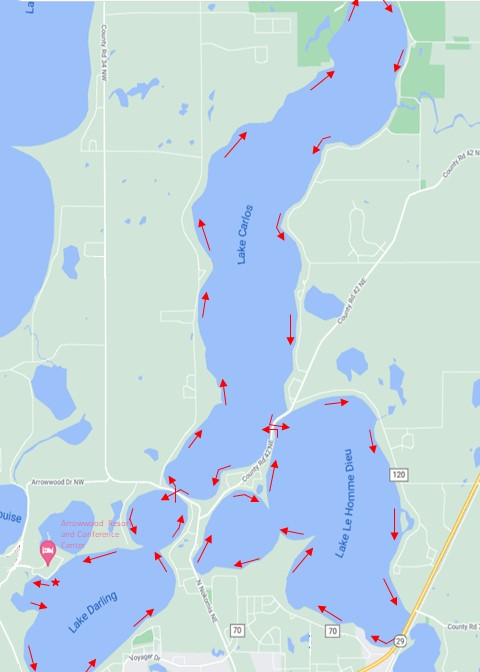 Chain of Lakes Route