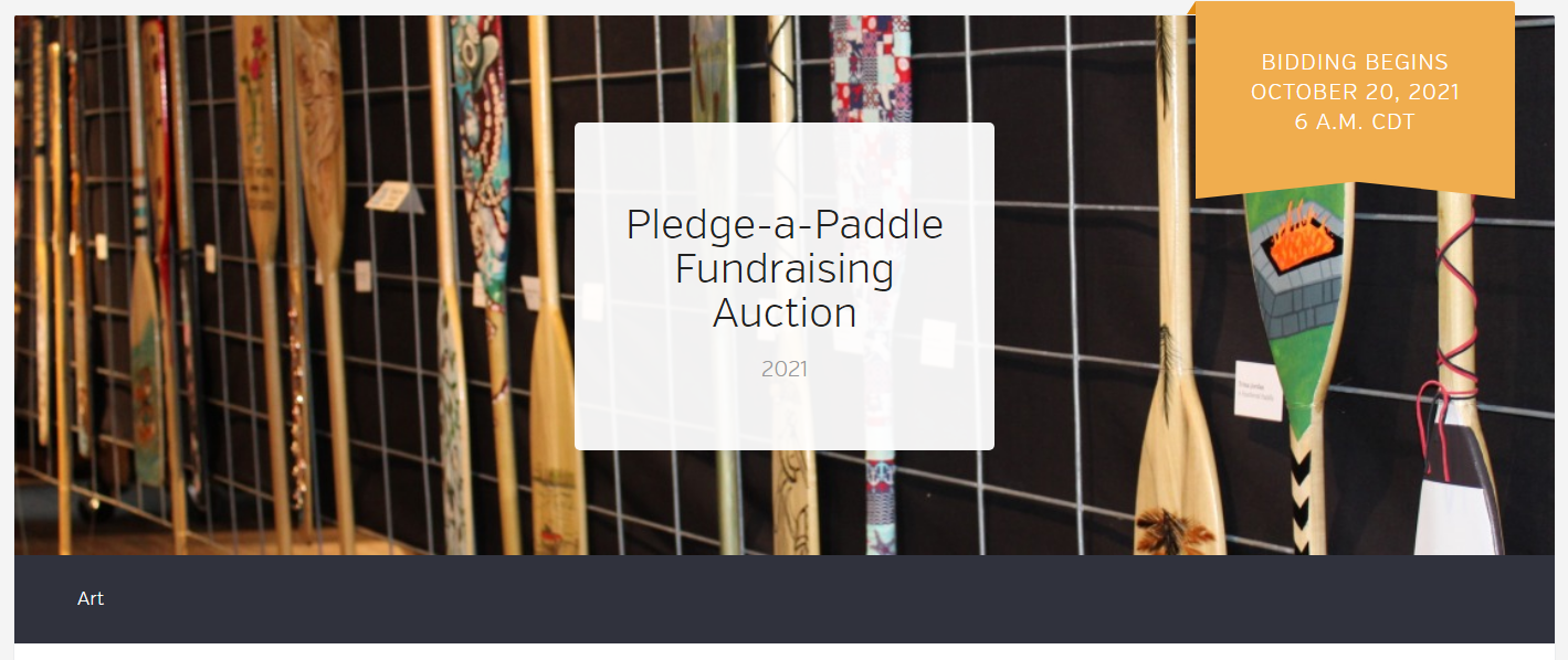 paddle banner