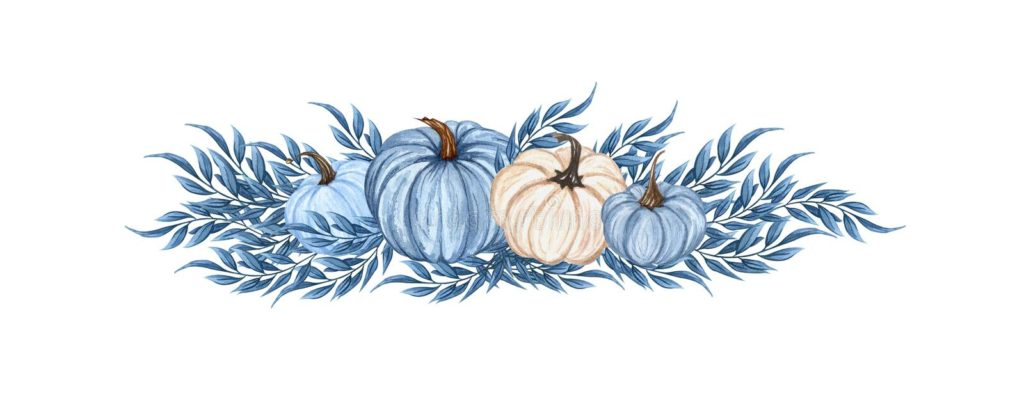 watercolor-blue-pumpkin-composition-floral-pumpkins-halloween-clip-art-autumn-design-elements-fall-arrangement-harvest-isolated-222557058